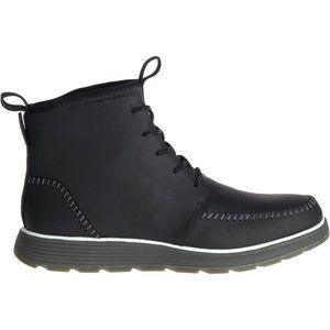 Chaco NIB Black DIXON Snowplow Leather Boots